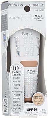 Physicians Formula Super BB All-in-1 Beauty Balm Cream, Light/Medium, 1.2 Ounce