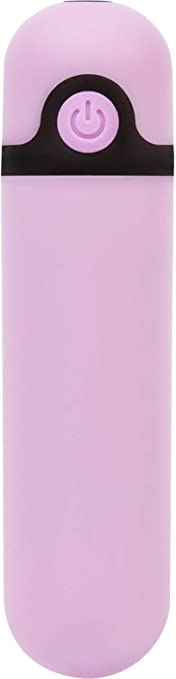 Pure Love 3.5 Inch Rechargeable Vibrating Bullet Purple10 Functions Adult Sex Toy