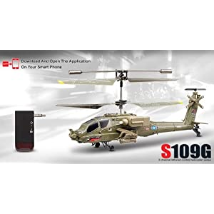 Syma S109G 3.5 Channel RC Helicopter with Gyro - 41LIHm8wIGL - Syma S109G 3.5 Channel RC Helicopter with Gyro