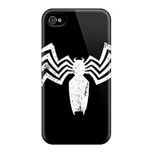 Defender Case With Nice Appearance (venom) For Iphone 4/4s
