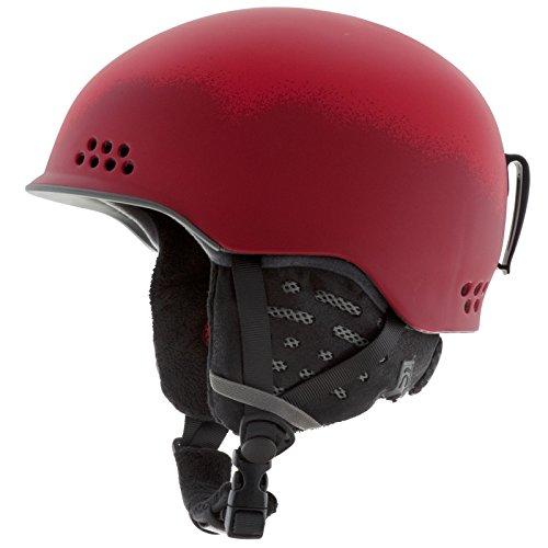 red audio helmet - 3