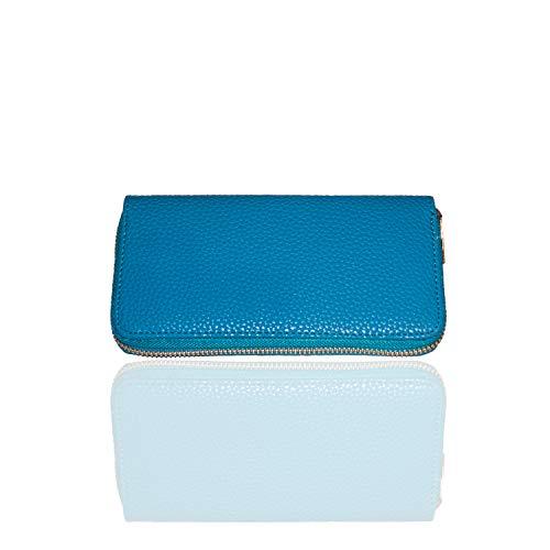 Kandy PU Vegan Leather Wristlet Wallet Clutch Purse Fits Large Smarphones