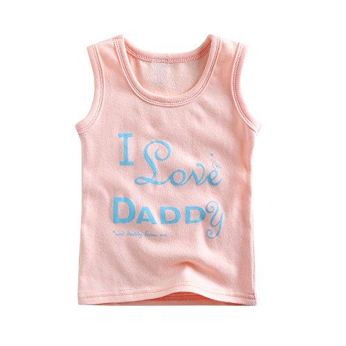 Agibaby Boys and Girls Infant & Toddler Short Sleeveless Tshirts