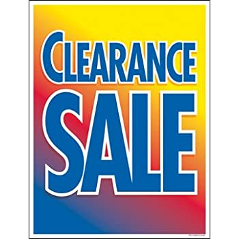 Amazon.com: Venta de liquidación ventana venta signo ...