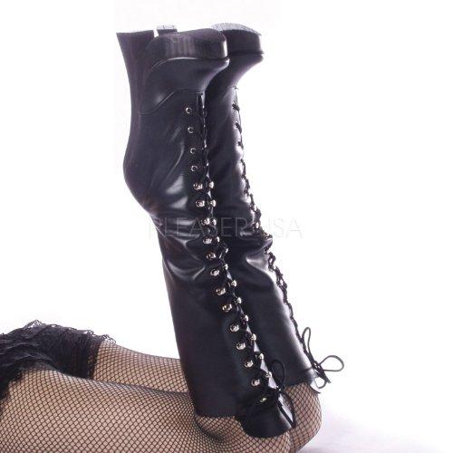 Devious - Botas mujer, color negro, talla 40