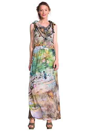 Desigual robe paraiso vert taille s