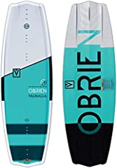 The 2019 Obrien Valhalla DOC special edition wakeboard is David O'Caoimh's take on our tried and true Valhalla. David's signature board features the new contouring, rebalanced thickness profile, Feather Core, Delta Base, Progressive Rocker, a...