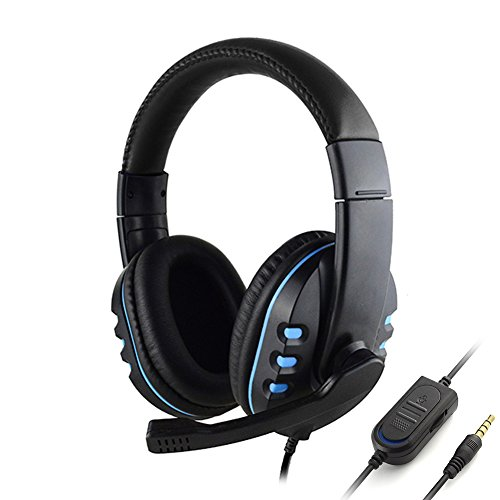Wired Stereo Headset Gaming Over Ear Headphones With Mic For PS4 3.5mm (Best And Cheapest Gaming Headset)