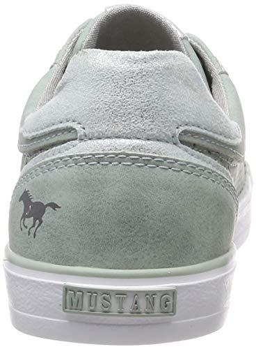 lindgrün Sneakers 1267 Mustang Basses 702 306 702 Vert Femme ww7qx6C0