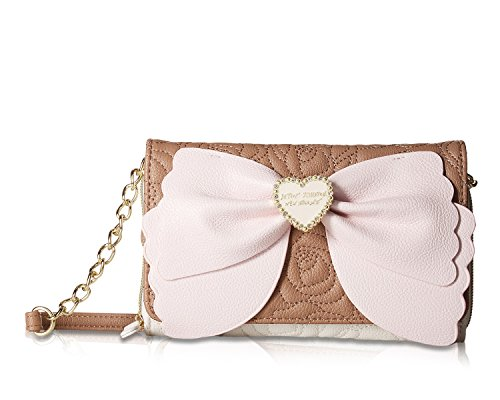 Betsey Johnson Women's Wallet On A String Spice One Size (Betsey Johnson Lily)