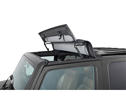 Bestop 52450-17 Black Twill Sunrider for Hardtop for 2007-2018 2-Door and Unlimited
