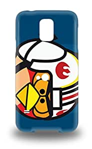 Forever Collectibles American Angry Birds Hard Snap On Galaxy S5 3D PC Case ( Custom Picture iPhone 6, iPhone 6 PLUS, iPhone 5, iPhone 5S, iPhone 5C, iPhone 4, iPhone 4S,Galaxy S6,Galaxy S5,Galaxy S4,Galaxy S3,Note 3,iPad Mini-Mini 2,iPad Air )