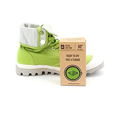 on feet images of order discount shop PALLADIUM Chaussures PRET A TEINDRE - Vert - Taille TU ...