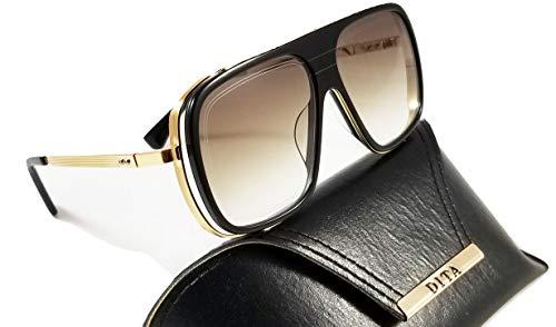 marrón 104 79 Unisex negro Dita Endurance DTS aviador de y Gafas lente con dorado sol ZgSOqxS