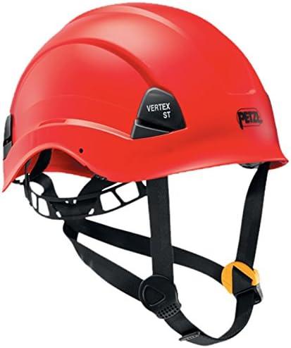 PETZL Helme Vertex ST - Casco de Escalada, Color Rojo, Talla 53-63 ...