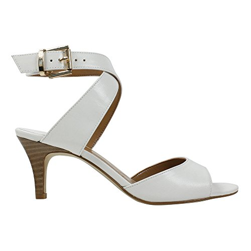 J.Renee Womens Soncino White/Kidskin clearance largest supplier cheap pick a best clearance online ebay AHxubz8MBl