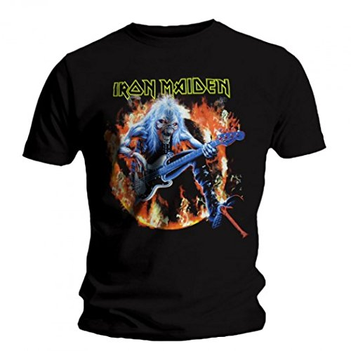 Iron Maiden - T-Shirt - Fear Live Flame 11490_7534