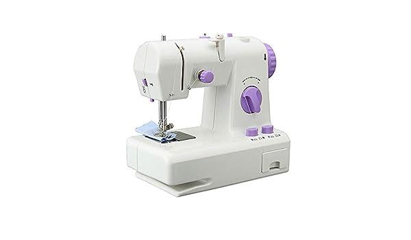 Máquina de coser Máquina de coser portátil, 12 puntos de sutura 2 ...