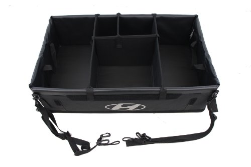 Genuine Hyundai Accessories 00012-ADU00 Cargo Organizer by Hyundai