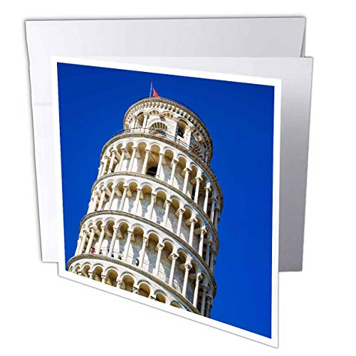3dRose Danita Delimont - Tuscany - The Leaning Tower of Pisa, Pisa, Tuscany, Italy - 1 Greeting Card with Envelope (gc_313745_5)
