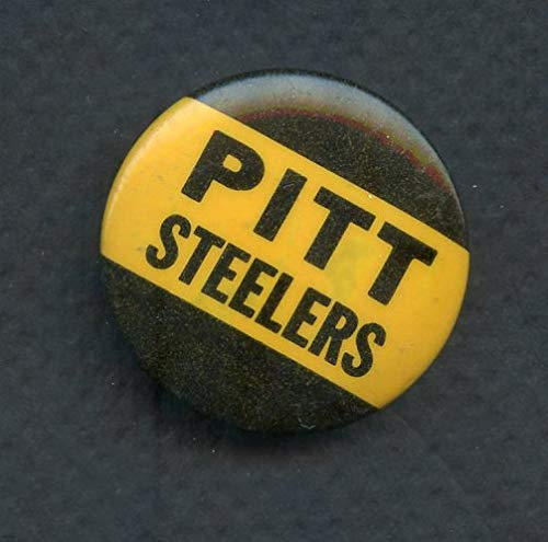 Vintage Pittsburgh Steelers Booster Button No Pin 365825 Kit Young Cards