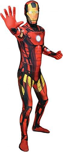 Large (Iron Man Morphsuit)