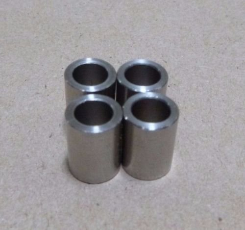 3/8'' ID x 1/2'' OD x 5/8'' Tall Stainless Steel 303 Standoff Spacer SPACERS BUSHINGS (4pc.)
