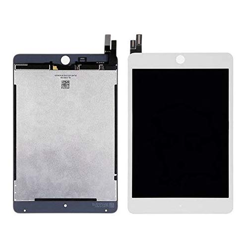 Suitable for IPad Mini 4 Screen Replacement - 7.9 inch LCD Touch Screen Digitizer Replacement and Touch Screen Flat Panel LCD Replacement, Free Tool Set, White ()