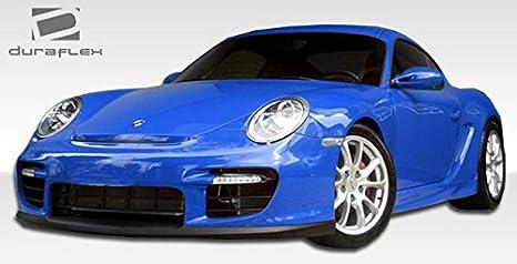 2006 - 2008 Porsche Cayman 2006 - 2008 Porsche Boxster DuraFlex GT-2 Cubierta Parachoques Delantero aspecto - 1 pieza: Amazon.es: Coche y moto