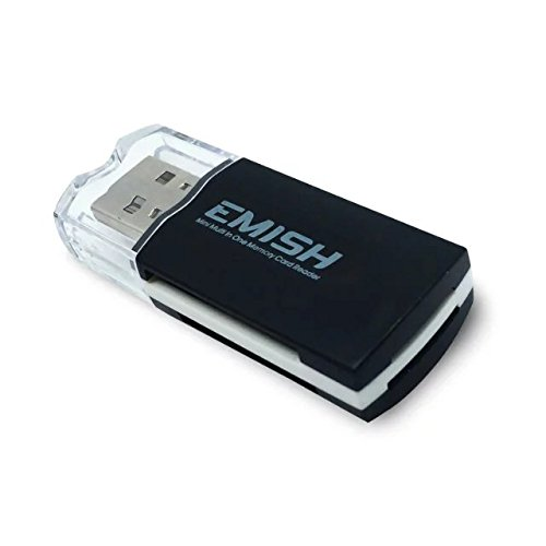 Special offer Emish 2PCS All-in-One 4 Slots USB 2.0 SD/MicroSD/MMC Card Reader/Writer