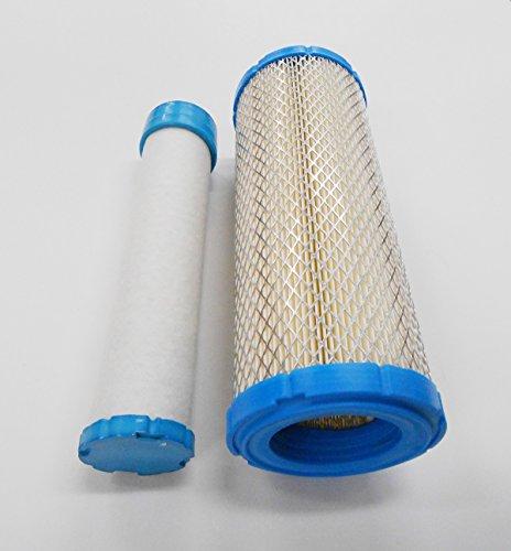 Poweka Inner  Outer Air Pre Filter Filters Fit For Kohler 25 083 01-s Grasshopper Scag Ferris Gravely John Deere Hustler Ch18 - Ch26 Cv16 - Cv26 Ch730-ch750