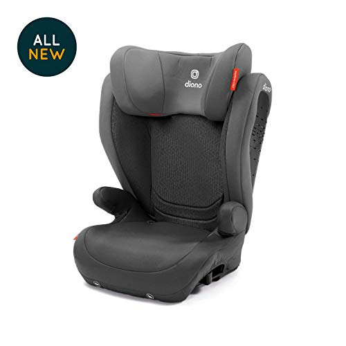 Diono Monterey 4 DXT Latch Booster Seat, Grey Dark