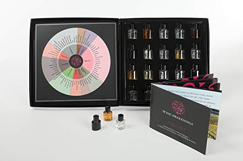 World Wine Wheel - 40 Aroma Red & White Wine Aroma Kit + Wine Aroma Wheel. The booklet covers the spectrum of wines found worldwide, including the aroma profile