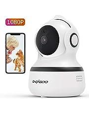 Camera Surveillance WIFI 1080p CACAGOO Caméra Bébé Caméra IP 2.4G WiFi sans Fil, Storage Cloud, Détection de Mouvements, Audio Bidirectionnel, Vision Nocturne