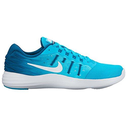 Scarpa Da Corsa Nike Womens Lunarstelos Cloro Blu / Bianco / Legione Blu