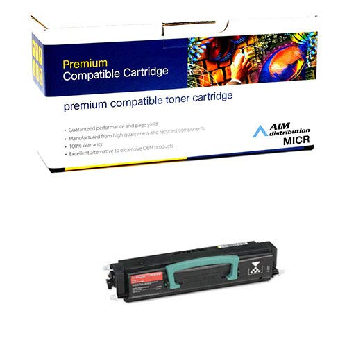 AIM Compatible MICR Replacement for Lexmark E238 Toner Cartridge (3000 Page Yield) (23820SW) - Generic ()