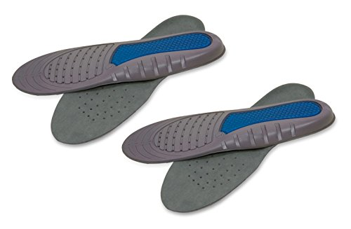 Trek Support Work Gel Insole Women, Size 6-10, 2 Pairs by Trek Support