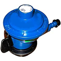 Handu Aluminium LPG Gas Regulator Suitable for Bharat/Indian/HP Gas Cylinders (Blue)