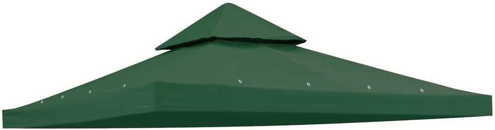 Heavy Duty tela de polialgodón verde 10 x 10 pies cuadrados Garden ...
