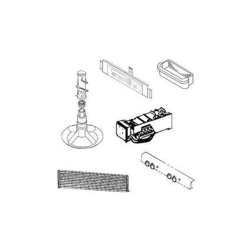 Ge WB15X10278 Handle Genuine Original Equipment Manufacturer (OEM) Part (Handle Microwave Ge)