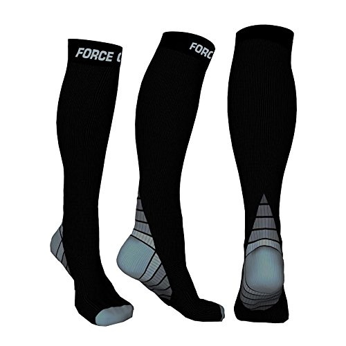 Sav Force Gear Sox Compression Socks for Men & Women, Fitness compression socks, Socks for marathon, Graduated Athletic Fit for Running, Nurses, Shin Splints & Maternity...