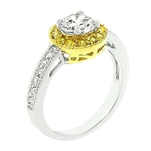 J Goodin Fashion Jewelry Filigree Bridal Ring Size 7