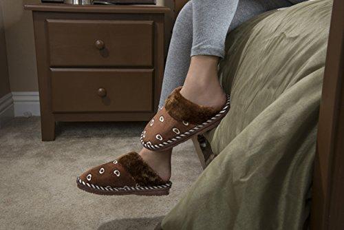 Pantofola Scivolo Cosmo Femminile Aerusi Marrone