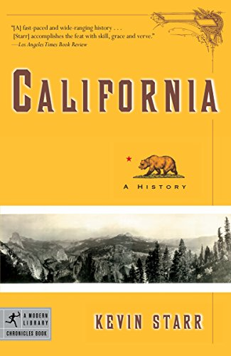 California  A History  Modern Library Chronicles