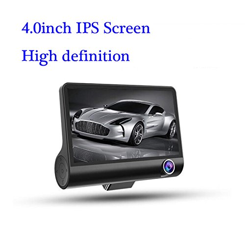 "Car Dash Camera 4"" IPS LCD HD PIP Mode 170 Degree Wide Angle Windshield Dashboard Camera Drive Recorder with G-Sensor,Loop Recording"