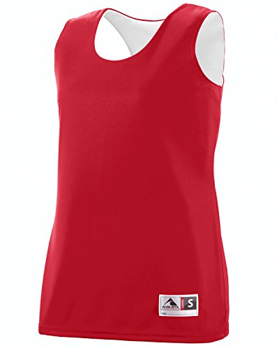 Augusta - Camiseta de tirantes - para mujer Red/White