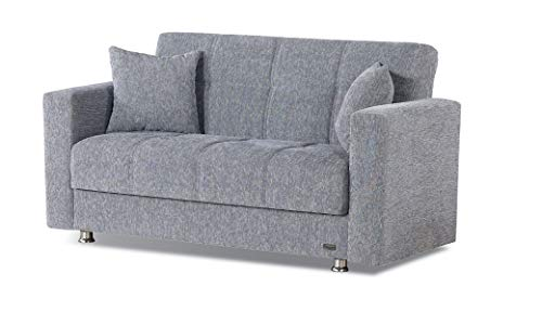BEYAN Niagara Collection Contemporary Upholstered Convertible Storage...