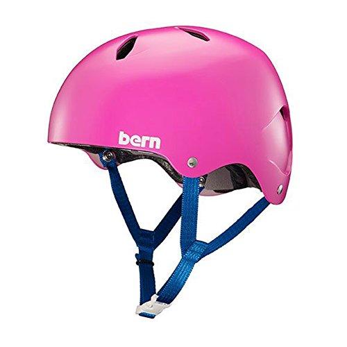 Bern Unlimited Diabla EPS Satin Hot Pink Helmet (Medium)