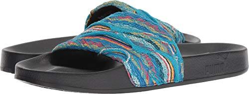 (PUMA Select Men's x Coogi Leadcat Slides, Island Paradise/Puma Black, 9 M US)