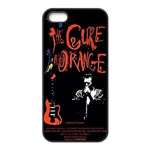 The Cure 007 funda iPhone 4 4S Negro de la cubierta del teléfono celular de la cubierta del caso funda EVAXLKNBC16618